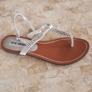 Steve Madden Rhinestone Sandals